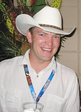 Greg Price in a cowboy hat