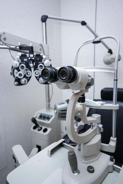 Prism eye institute exam equipment
